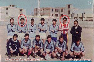 خاطره تصویری/ عابدزاده در کنار سردار شهید مفقودالاثر