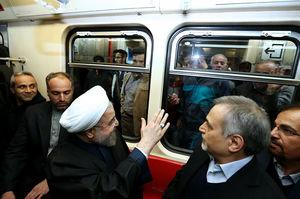 روحانی مترو