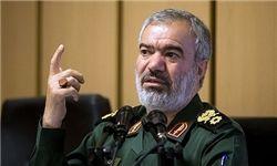 فدوی: آمریکا به دنبال مقابله با قدرت دریایی سپاه است