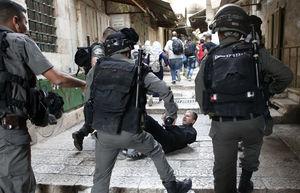 رژیم صهیونیستی، تظاهرات «همبستگی با اسرا» را سرکوب کرد