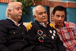 اکبر عبدی و خانواده اش امشب مهمان علیخانی