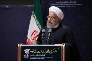 عکس/ روحانی در کنگره بین المللی بزرگداشت روز شهید در مشهد