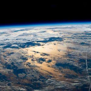 عکس/ طلوع آفتاب از منظر فضا