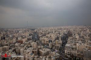 عکس/ وضعیت هوای امروز تهران