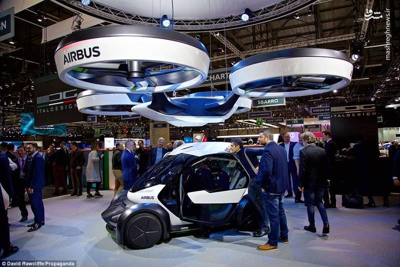 خودروی پرنده ایرباس