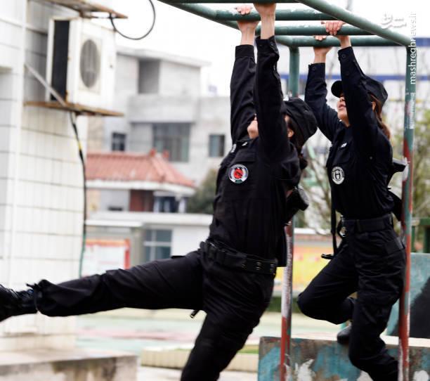 دوره های آموزشی یگان پلیس زنان چین