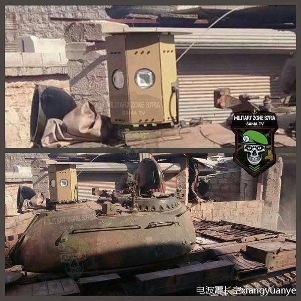 سیستمهای بومی «حفاظت فعال» سوریه در نبرد با موشکهای تروریستها +تصاویر