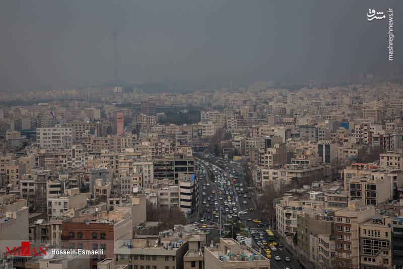 کیفیت هوای امروز تهران