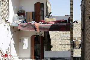 عکس/ دو کشته در انفجار منزل مسکونی در مشهد