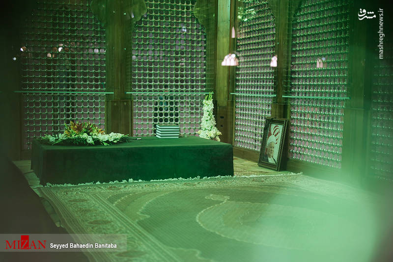 حضور اعضای مجلس خبرگان در حرم امام خمینی(ره)