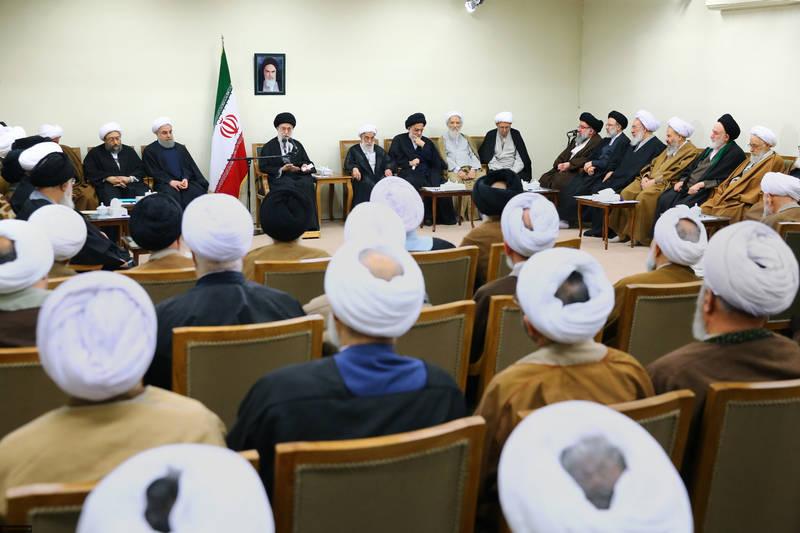 دیدار رئیس و اعضای مجلس خبرگان رهبری با رهبر انقلاب