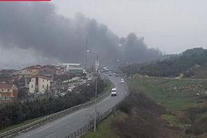 سقوط بالگرد آتشنشانی ترکیه در «استانبول»