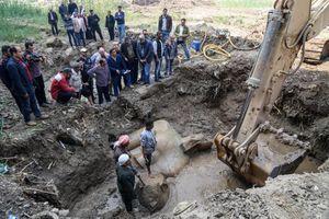عکس/ کشف مجسمه رامسس دوم