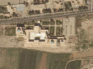 وقتی آرامگاه عمار یاسر با خاک یکسان شد + تصاویر ماهوارهای