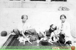 عکس/ یکی از الواط اصفهان در دوره ظلالسلطان