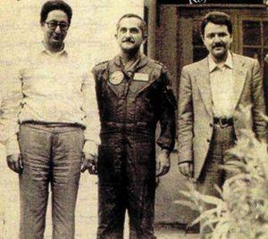 مسعود رجوی و بنی صدر