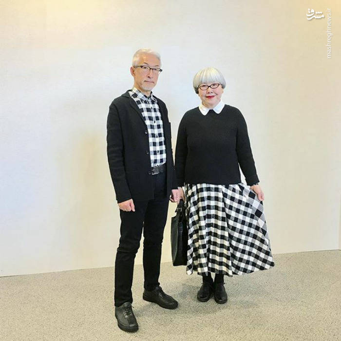 زوج عجیبی که 37 سال با هم ست هستند!