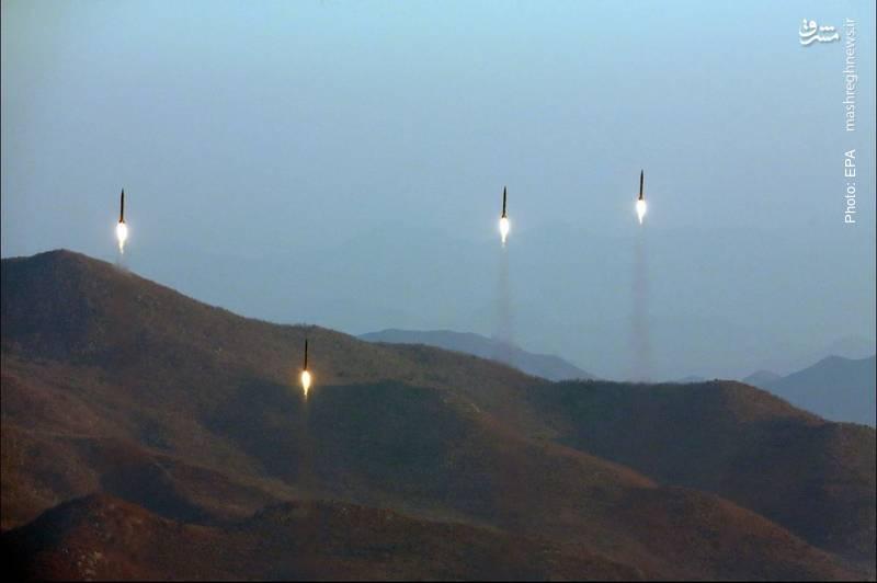 پرتاب چهار موشک بالستیک توسط کره شمالی به سوی دریای ژاپن- آژانس عکس خبری اروپا