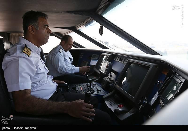 مانور امداد و نجات و ایمنی دریایی در کیش