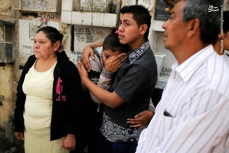 مرگ 37 دختر بر اثر آتشسوزی در مرکز مراقبت از نوجوانان بدسرپرست در گواتمالا- رویترز