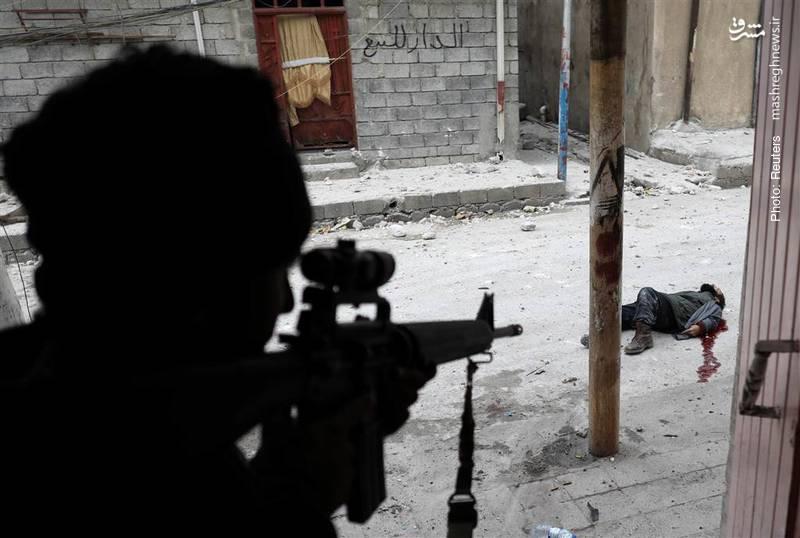هلاکت یک مظنون به عضویت در داعش به دست نیروهای ویژه عراقی- رویترز