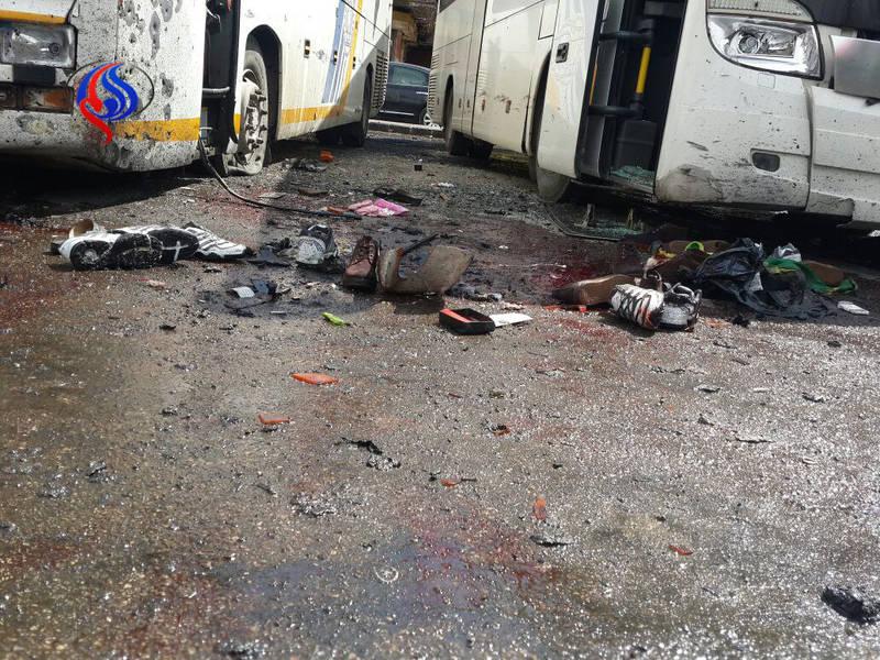 دهها کشته در دو انفجار خونین در جنوب شرق دمشق