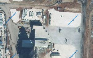 آمریکایی ها کارخانه سیمان در شمال سوریه را پایگاه نظامی کردند + تصاویر ماهوارهای