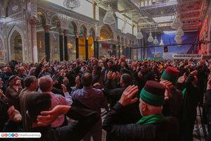 عکس/ حال و هوای حرم امام حسین(ع) در روز وفات حضرت ام البنین(س)