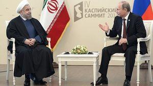 روحانی: اقدامات آمریکا ناقض تعهدات برجام است/پوتین: نقض برجام از سوی هر یک از طرفین تخلف از قطعنامه 2231 است