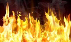 فوت ۲ نفر بر اثر آتش سوزی مخزن فشار گاز