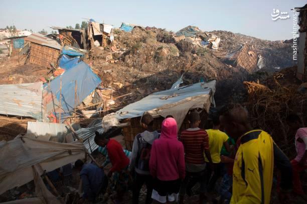 قربانی شدن 46 نفر در رانش زمین