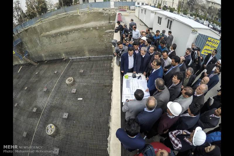 مراسم کلنگ زنی مرکز فوق تخصصی سرطان بیمارستان امام حسین