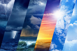 تلفن همراهی با شفافترین پیش بینی وضع هوا +عکس