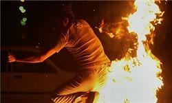 انفجار خودروی تیبا حامل ترقه در اصفهان