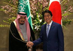عکس/ سفر پادشاه عربستان به ژاپن