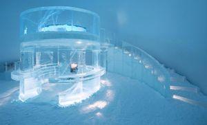 عکس/ بزرگترین هتل یخی جهان