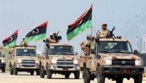 حمله موشکی به پایگاه هوایی در لیبی