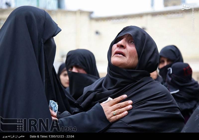تشییع پیکر شهید مدافع حرم در قم