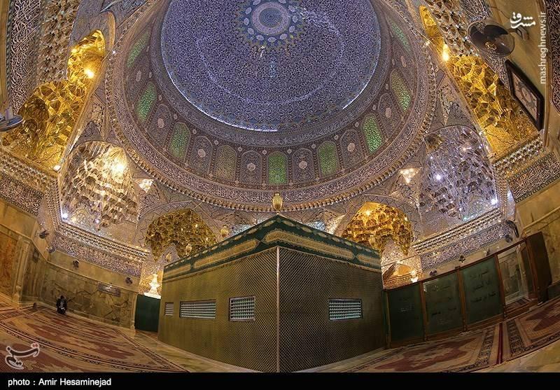 آخرین تصاویر ضریح حرمین عسگرین(ع) قبل از تعویض در سامرا