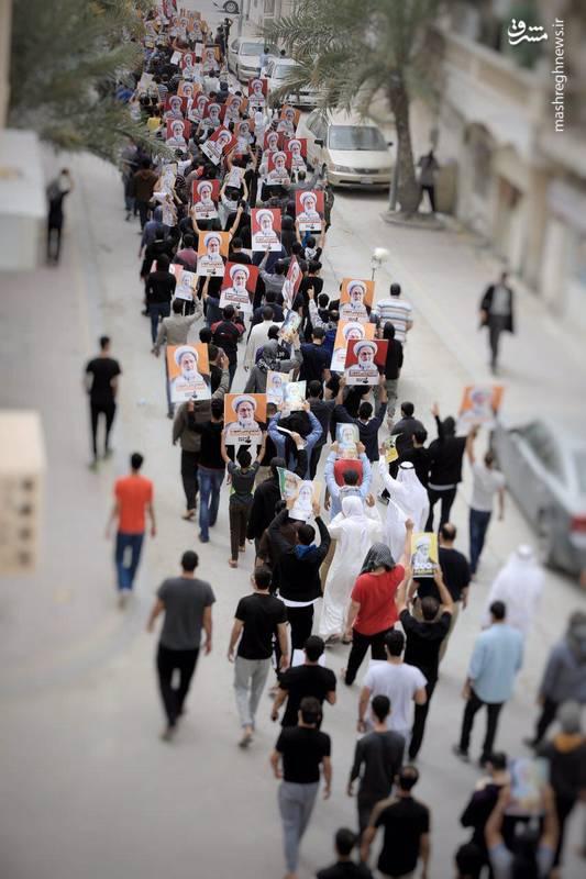 تظاهرات صبح امروز مردم بحرین در منطقه الدراز