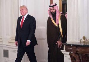 عکس/ دیدار جانشین ولیعهد عربستان با ترامپ