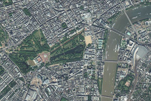 عکس/ لندن را از بالا ببینید