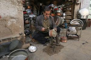 عکس/ بازار مسگرهای شهر یزد