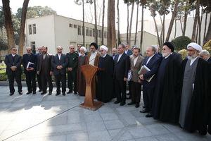 تمام کابینه، پوششی روحانی شدند