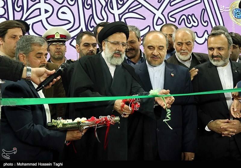 افتتاح ورزشگاه امام رضا(ع) در مشهد