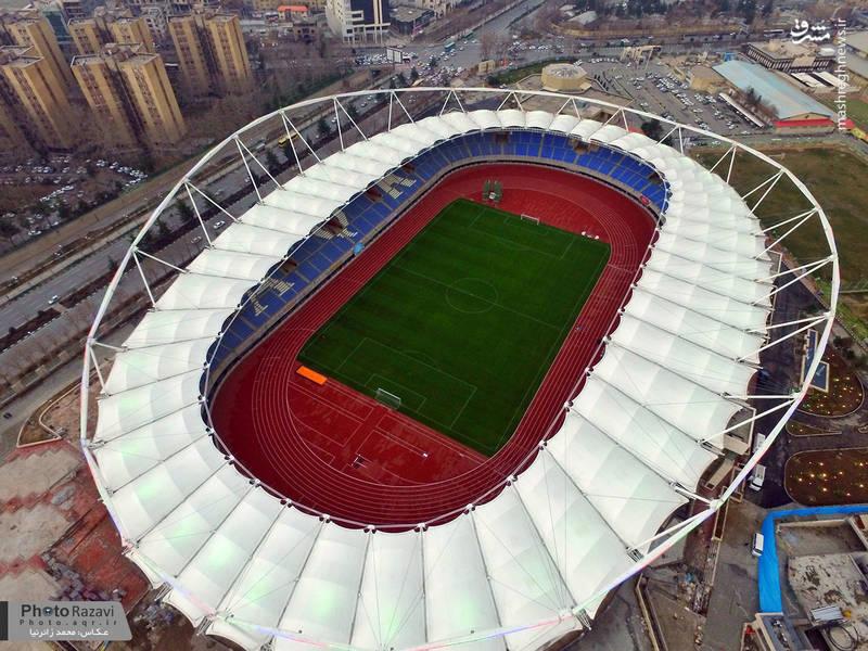 تصاویر هوایی از ورزشگاه امام رضا(ع)