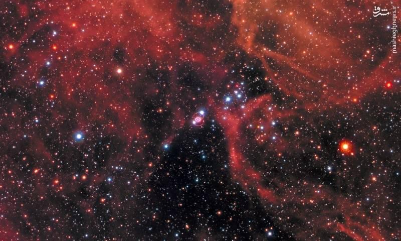 ارسال تصویر جدیدی از یک ابرنواختر توسط تلسکوپ هابل