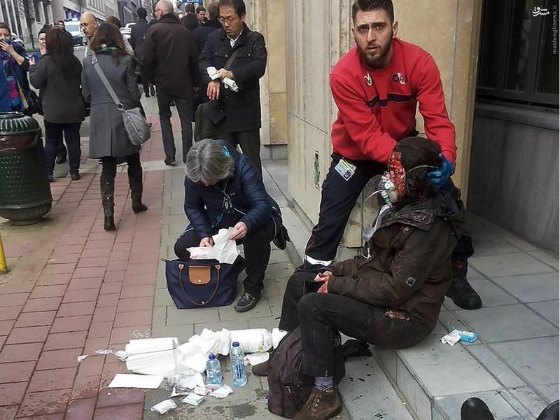دهها کشته و زخمی بر اثر دو انفجار در بروکسل