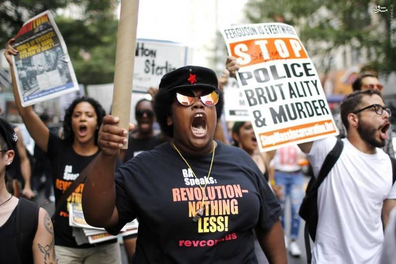 راهپیمایی علیه نژادپرستی پلیس ایالات متحده در شهرهای مختلف