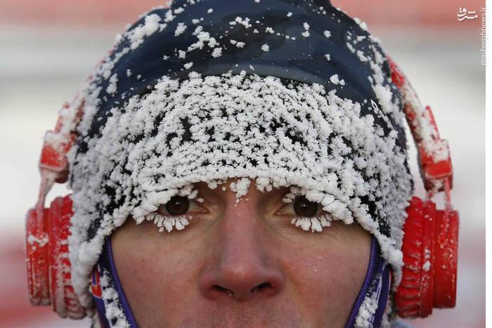 سرمای سخت در مسابقات سنتیِ دو، روسیه